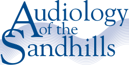 Sandhills audiology mobile logo